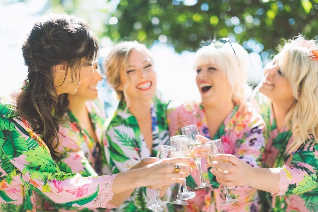 Can not wait until the next Pijama party Rose with my #bossbabes
