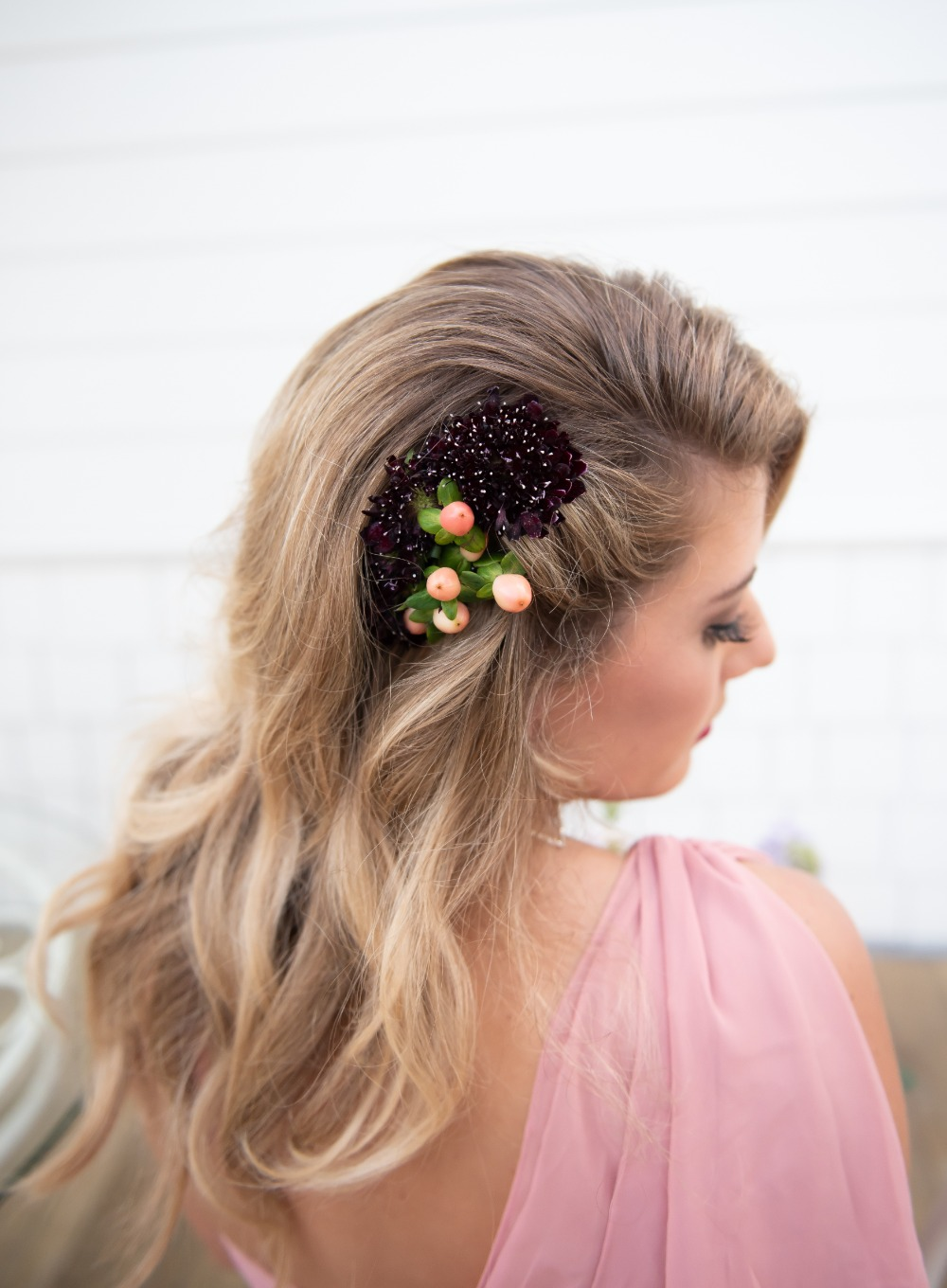 floral wedding hair accessory