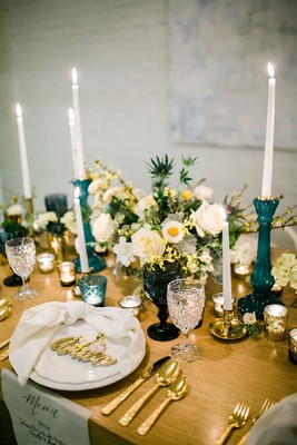 We're Over the Moon for This Celestial Wedding Inspiration