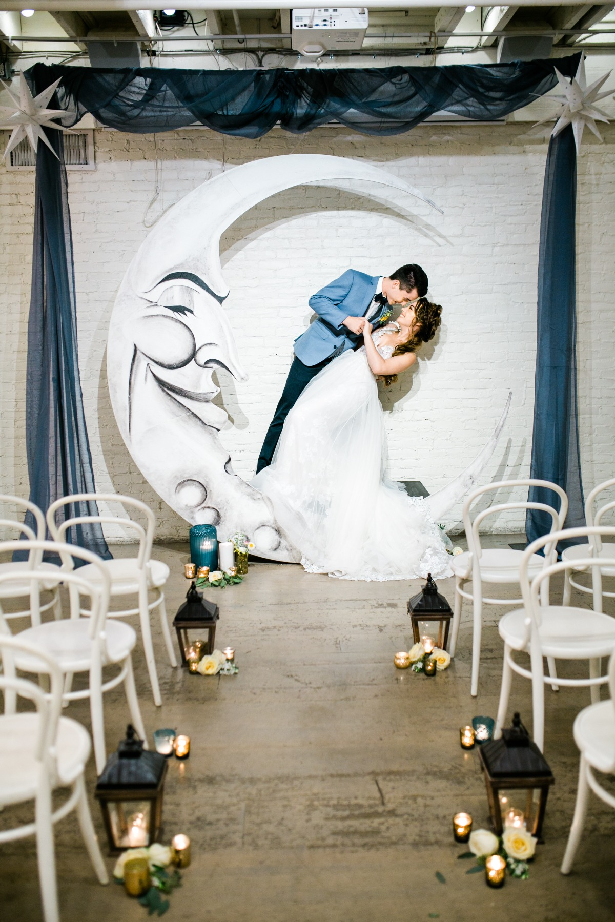 Cute Over the Moon wedding ideas