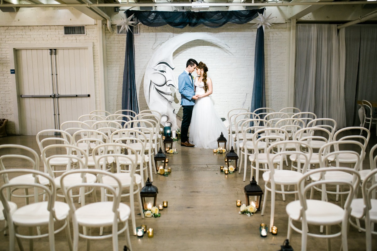 Over the Moon wedding ideas