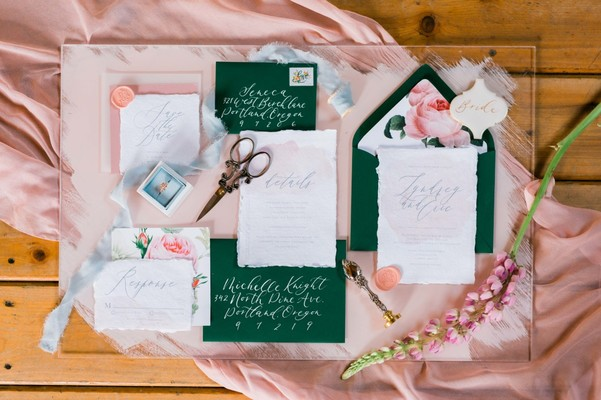 An Intimate Secret Garden Wedding Inspiration