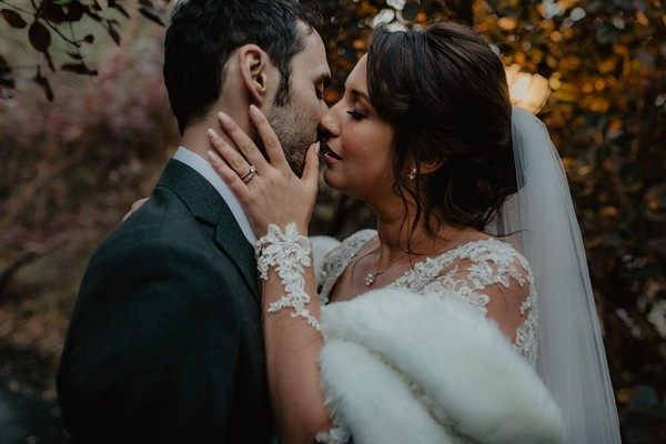 Cozy And Unique Late Fall Wedding