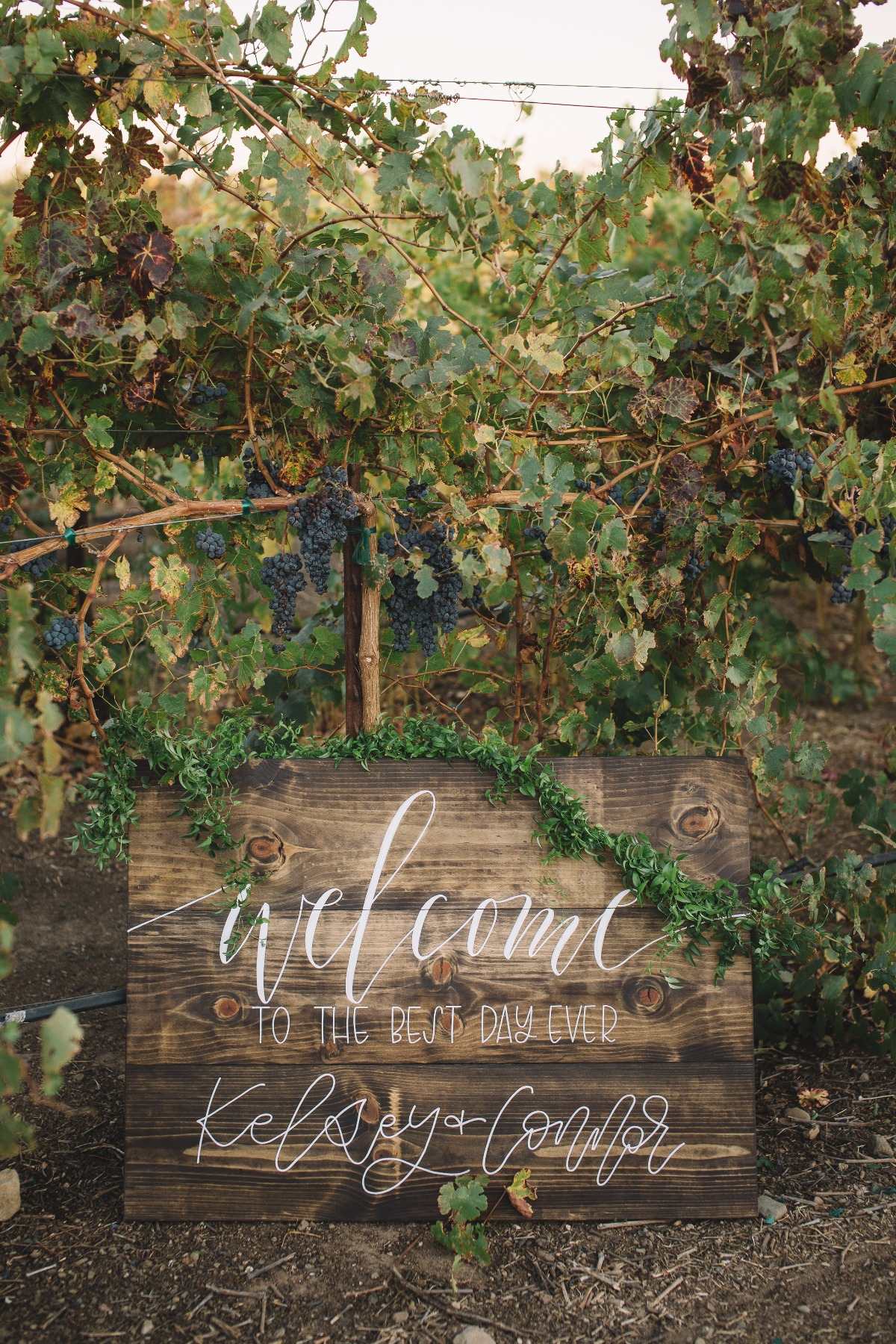 wedding welcome sign