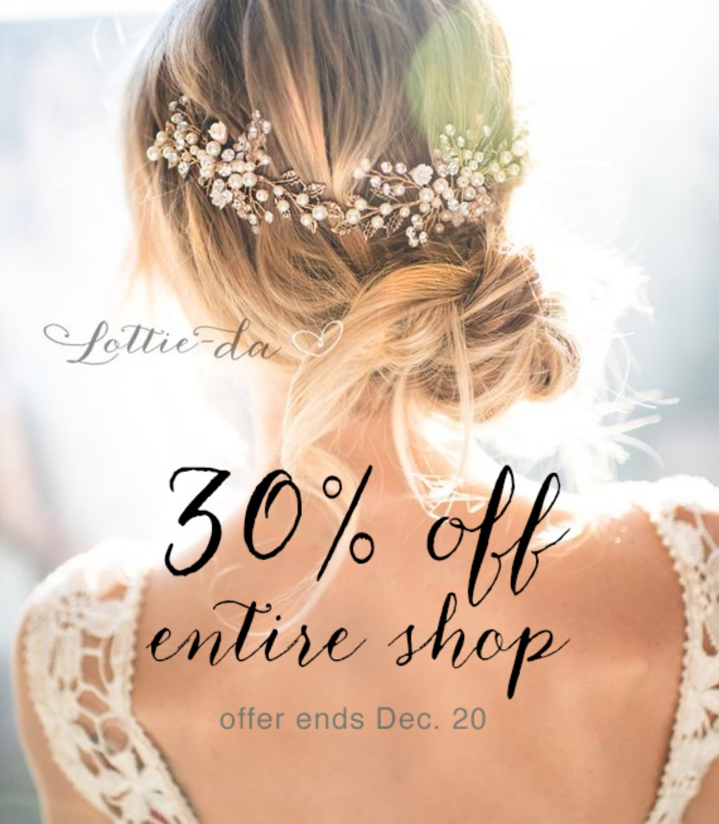 30% Off Entire Shop!