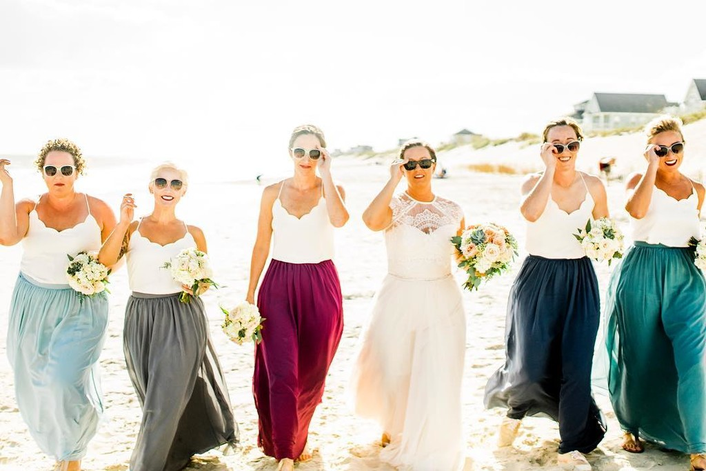 """I'm dreaming of a beach wedding...""🎵 #ShopRevelry"