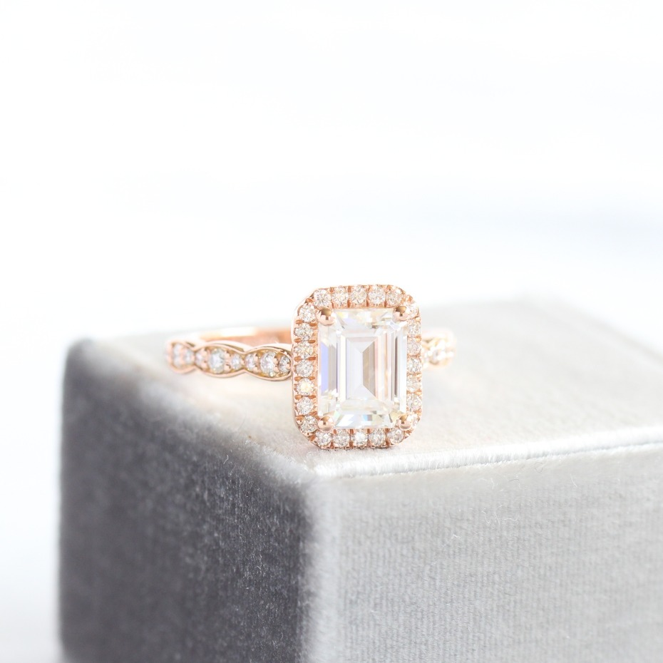 La More Design Emerald Cut Stone