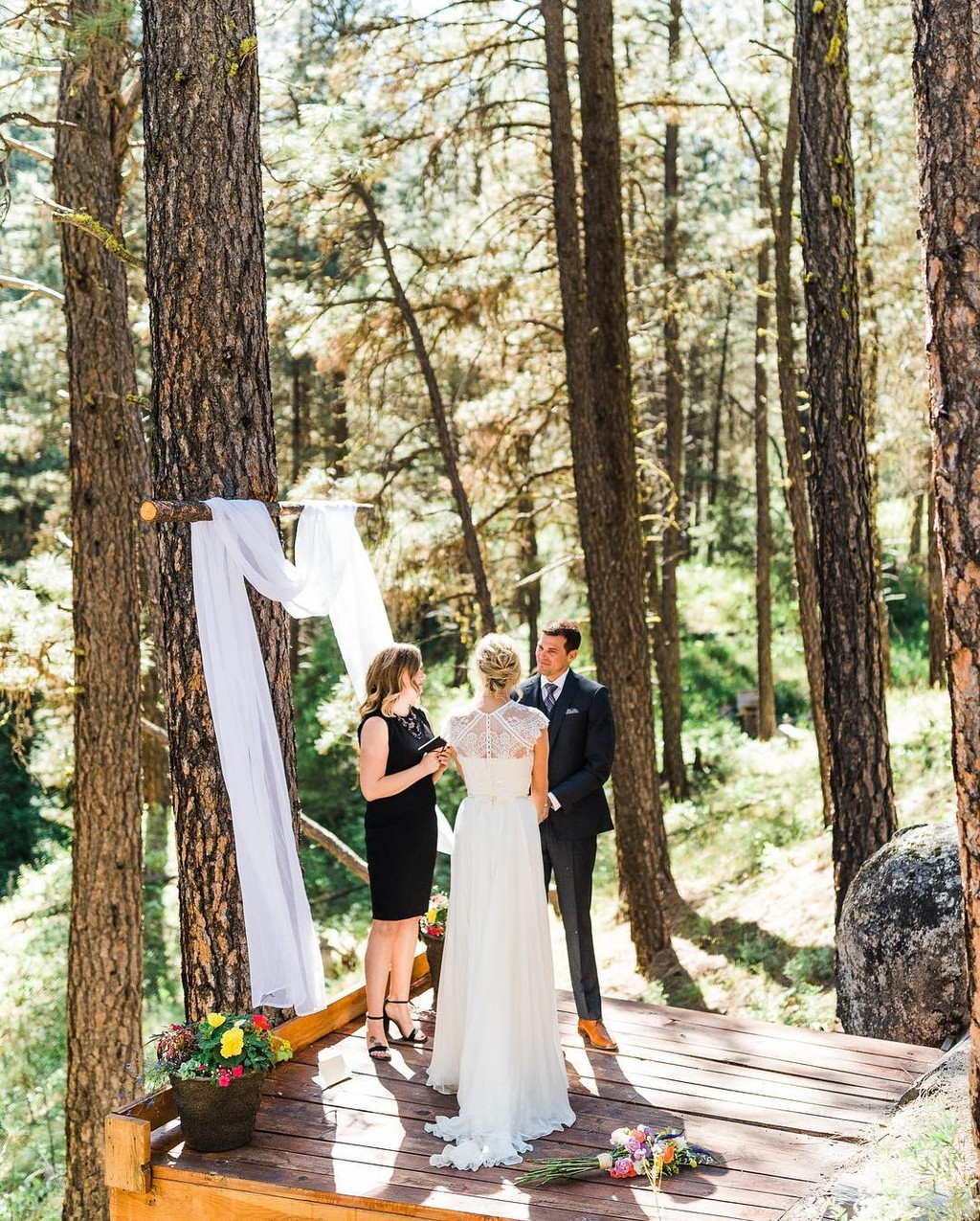 Getting married in the mountains!