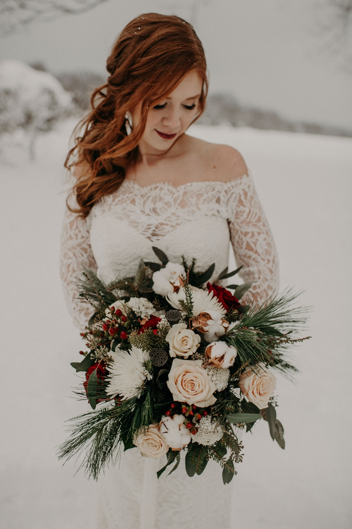 Happy Holidays Lets Get Cozy Winter Wedding Ideas