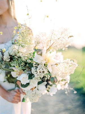 This Wedding Inspiration Went All Natural