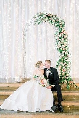 An Elegant Wedding Inspiration Overflowing with Flowers and Style