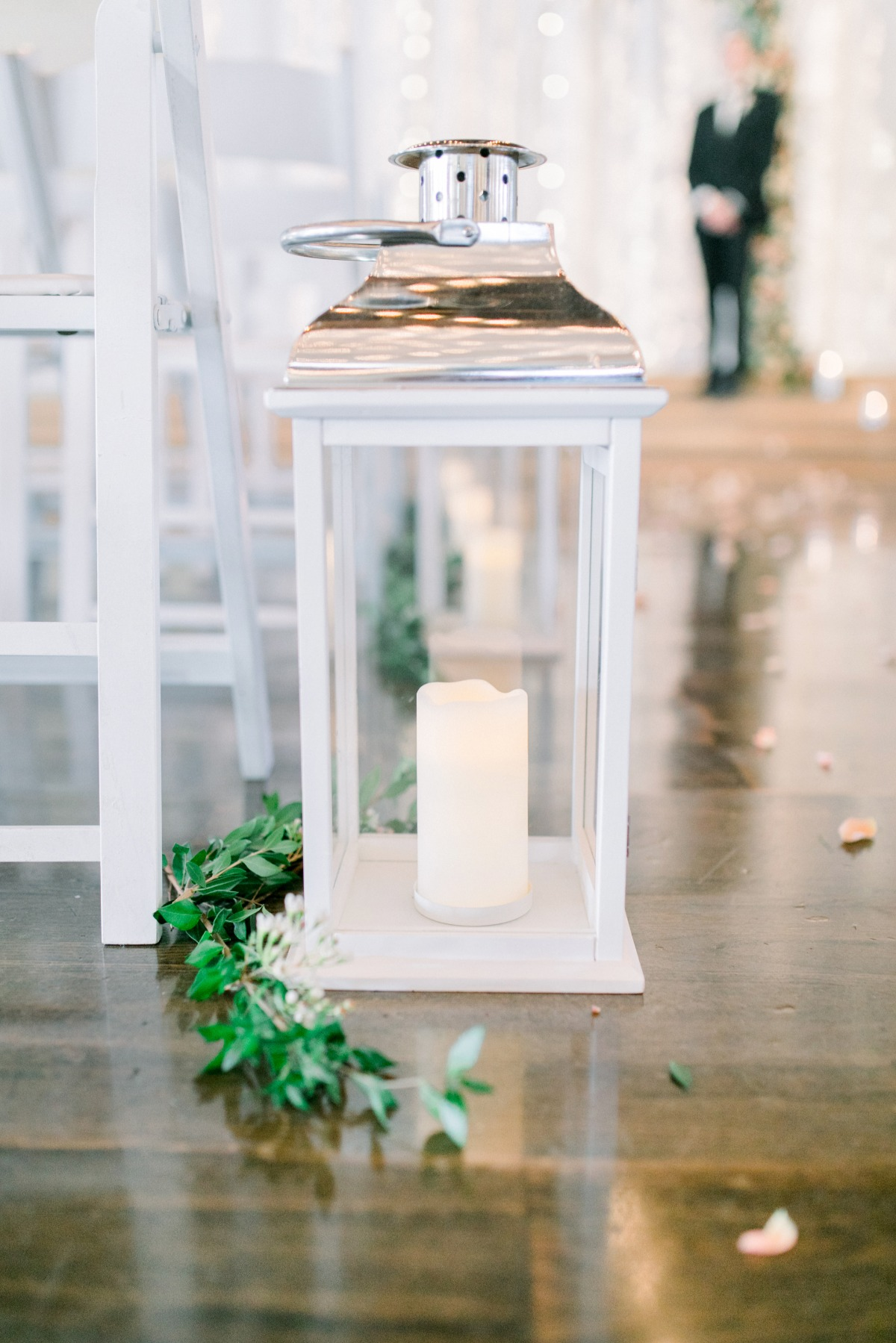 Ceremony decor lantern