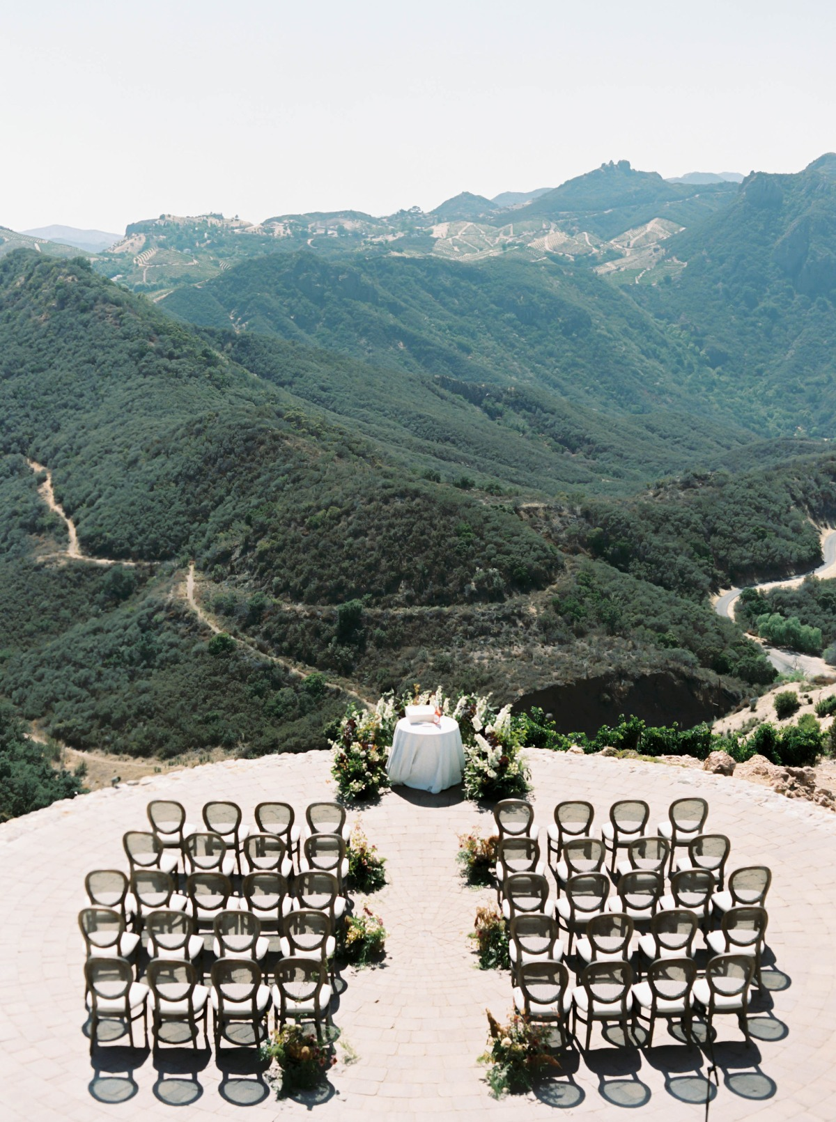 mountain top wedding venue