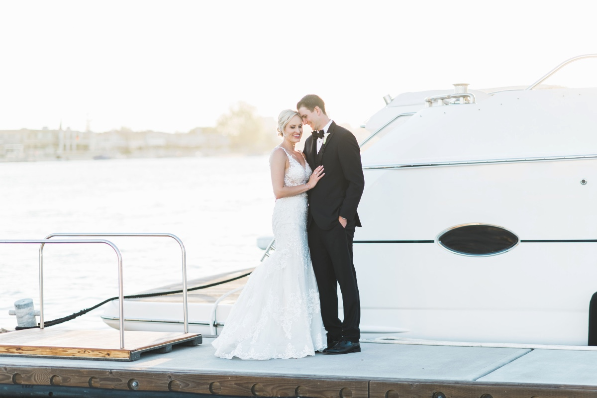 Luxurious Balboa Bay Resort wedding