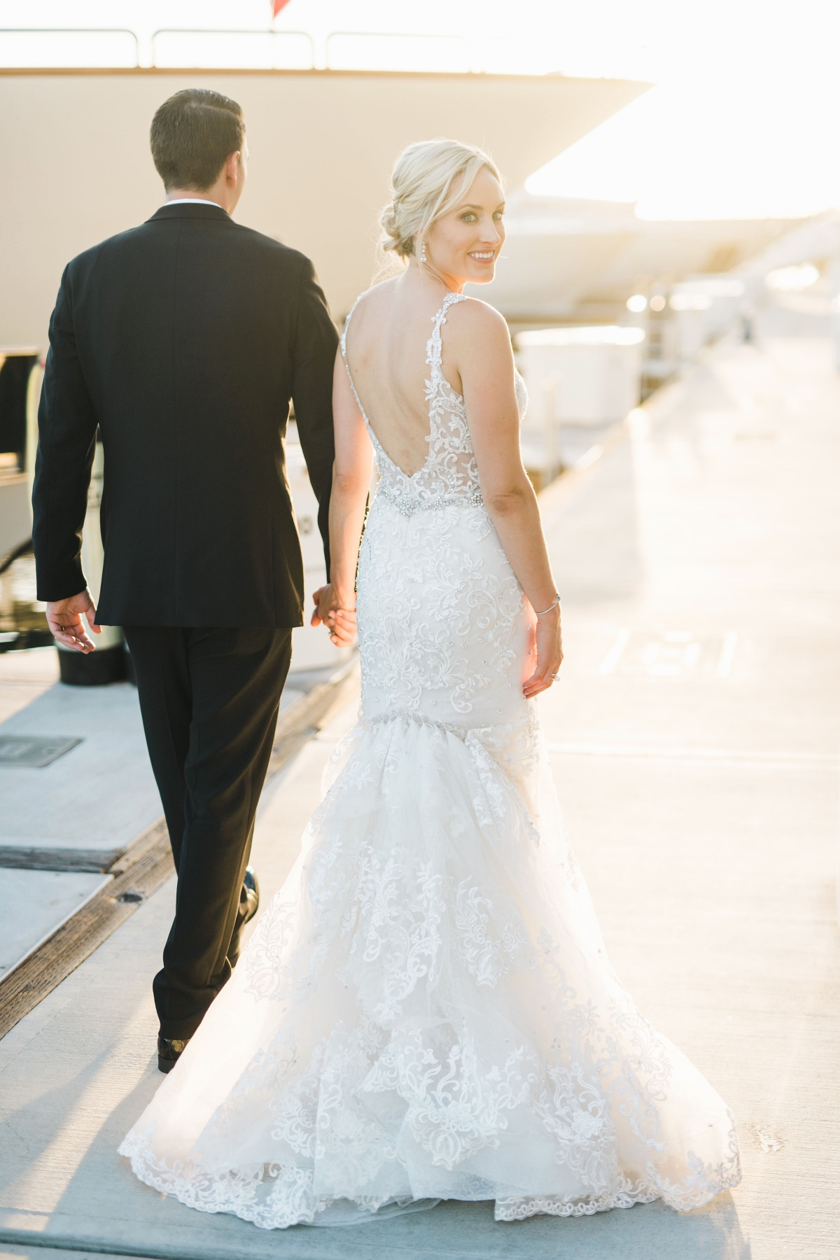 Luxury Balboa Bay Resort wedding