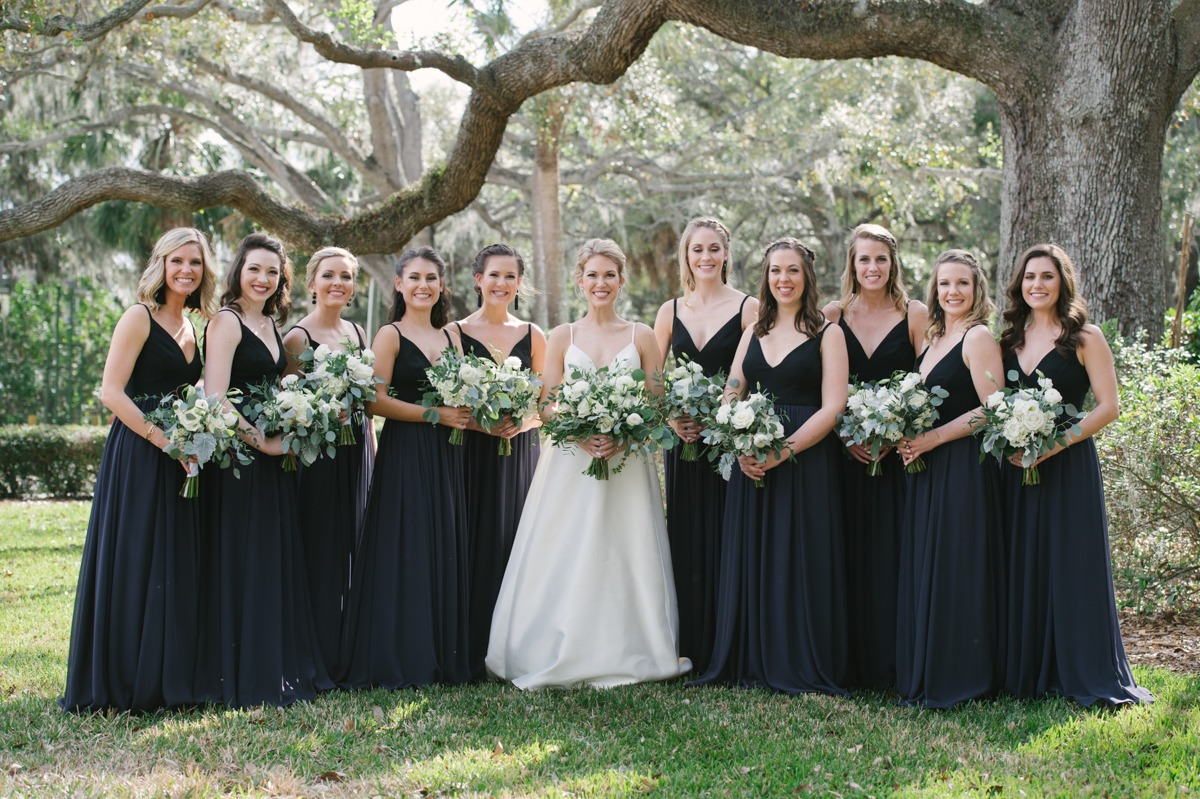 Black Tie Bridesmaid Dresses 56 Off Pbpgi Org