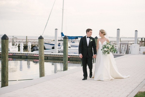 Classic and Sophisticated Black-Tie Wedding in Florida