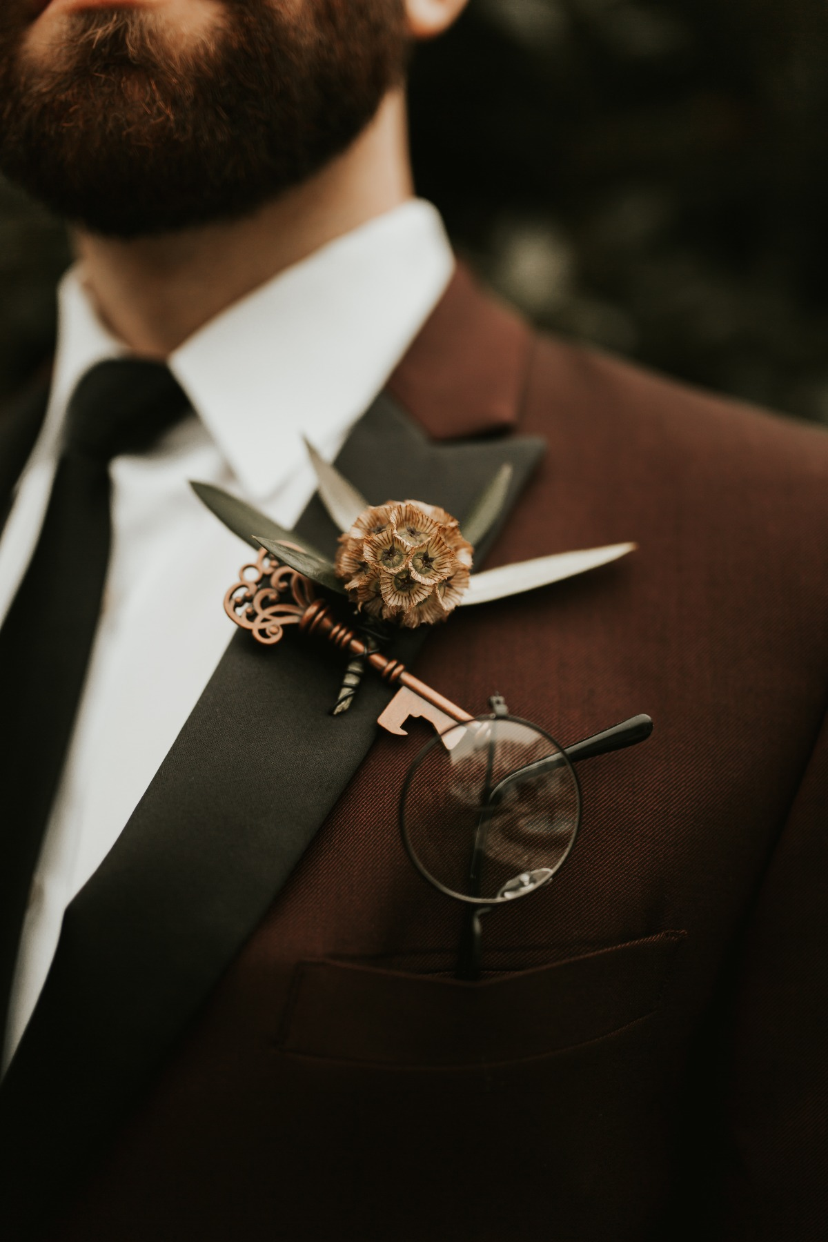 harry potter classes and key boutonniere