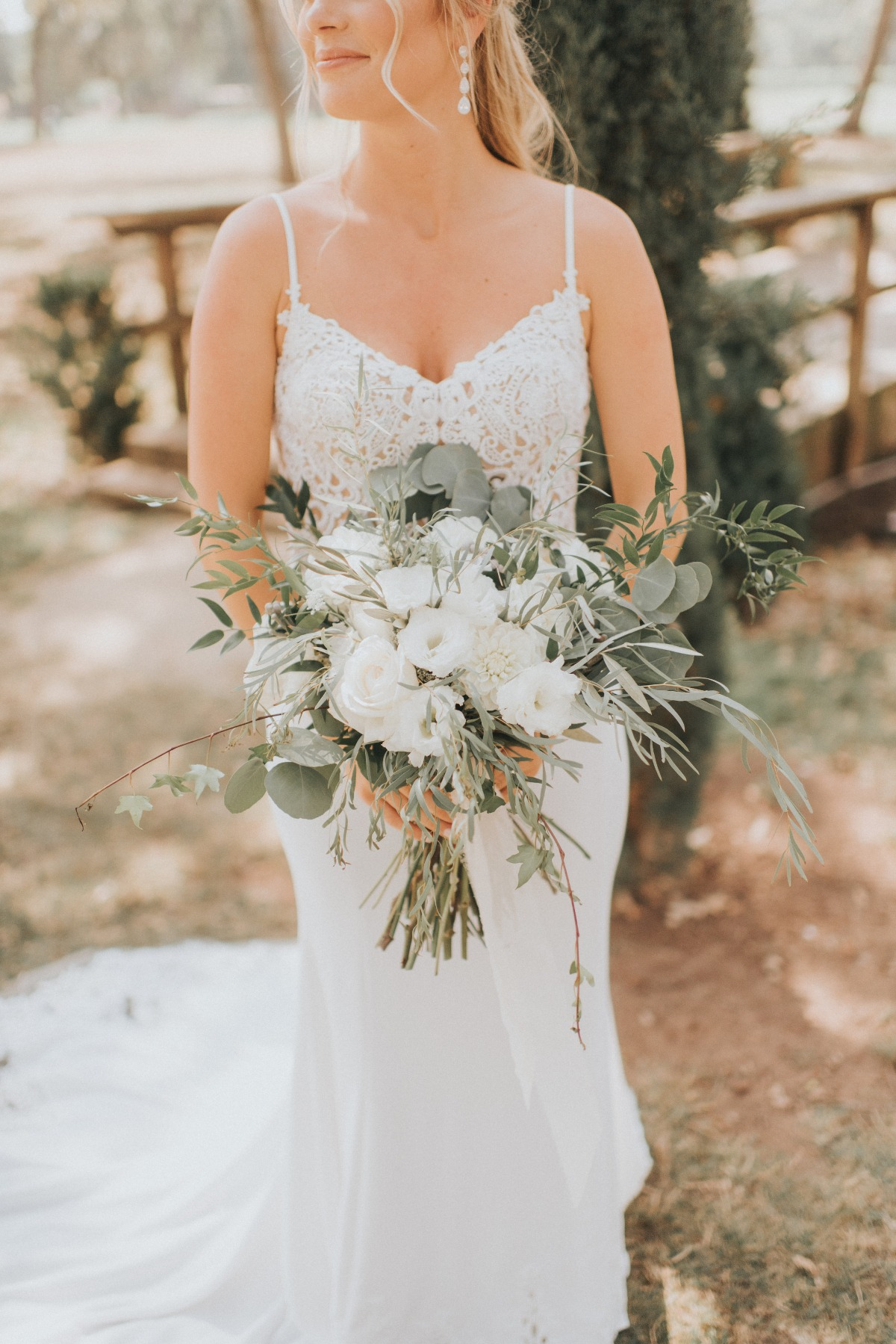 summer time bridal style