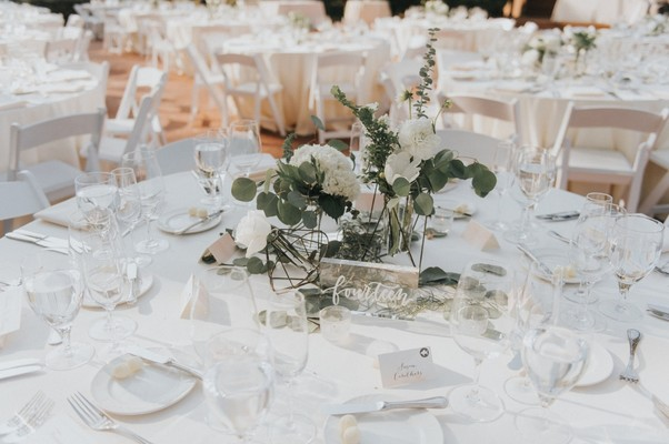 A White and Blush Napa Valley Summer Wedding