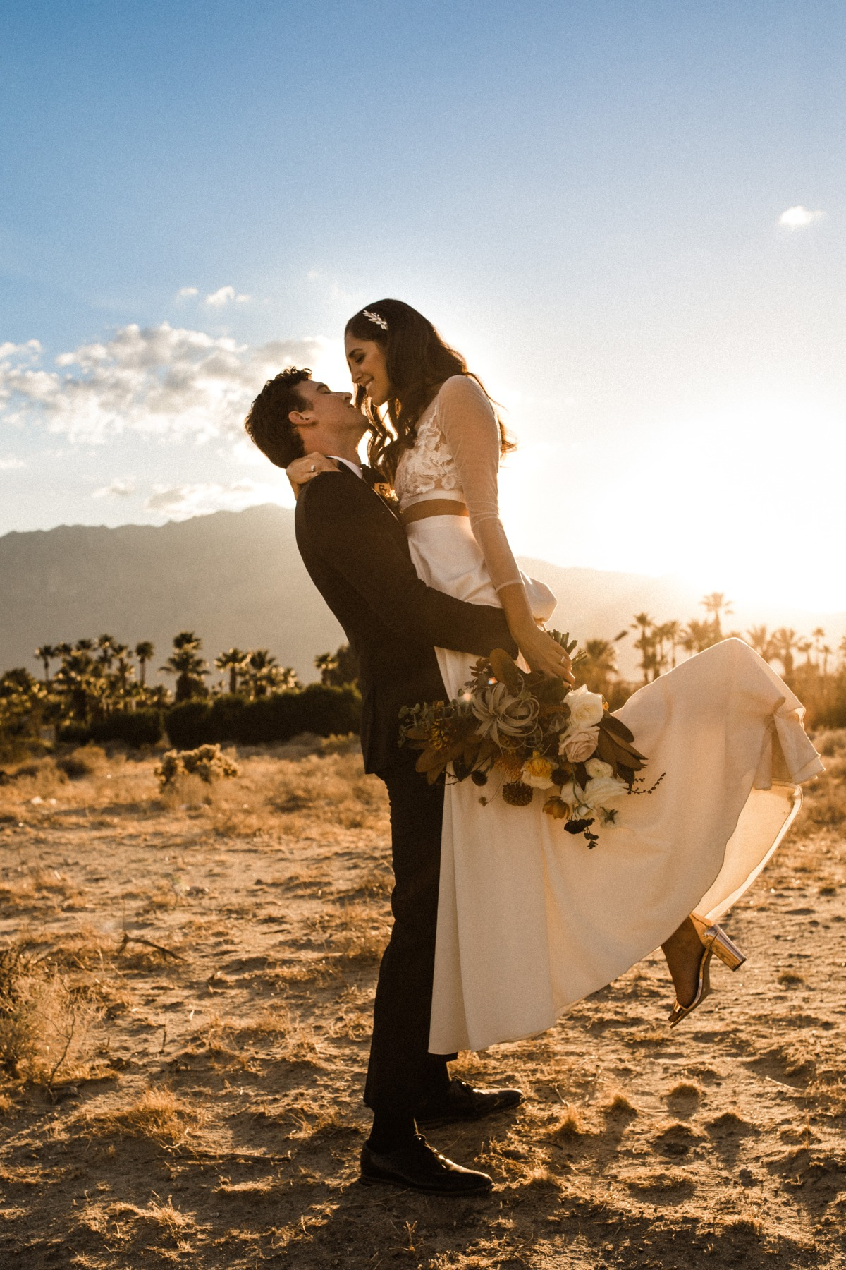 Modern Chic Palm Springs Wedding