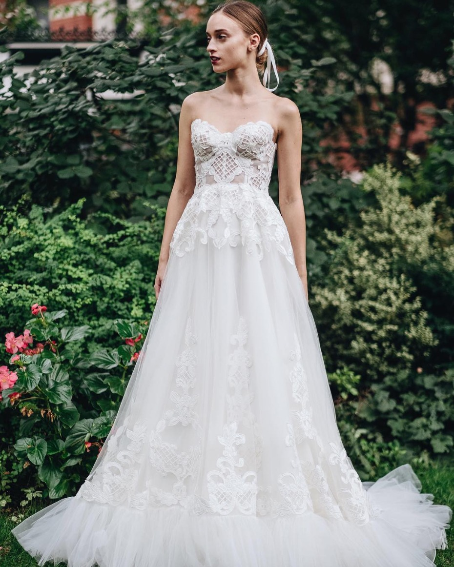 Lela Rose Bridal Dorsay Gown