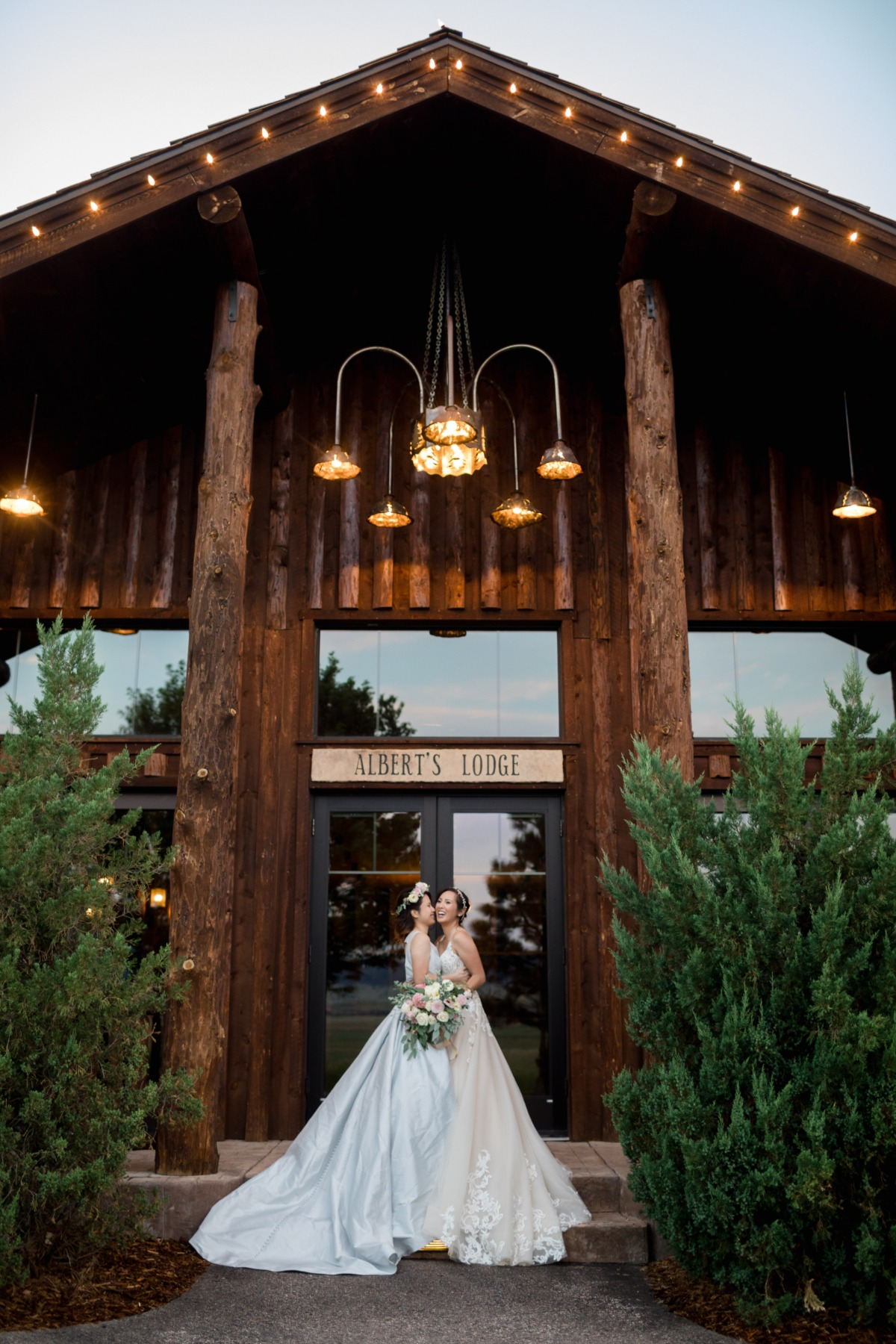 wedding at the Spruce Mountain Ranch