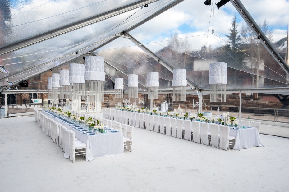 Blueprint Studios All White Tented Wedding Space