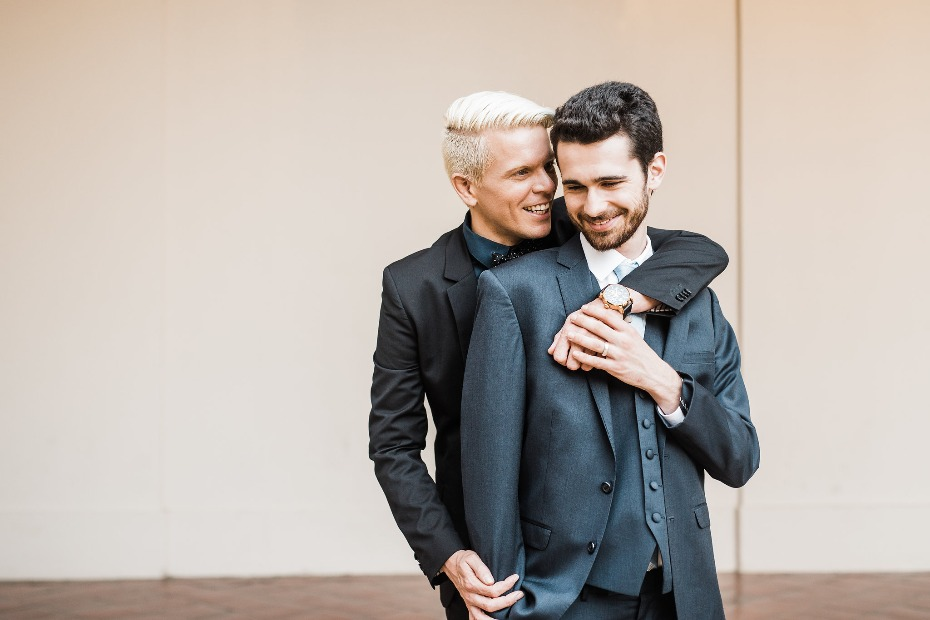 Victoria Johannson Photography Two Grooms In Love on their Wedding Day