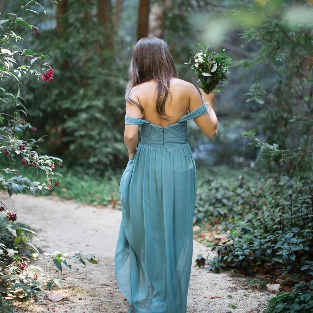 Gorgeous greenery & forest feels.💚 #ShopRevelry