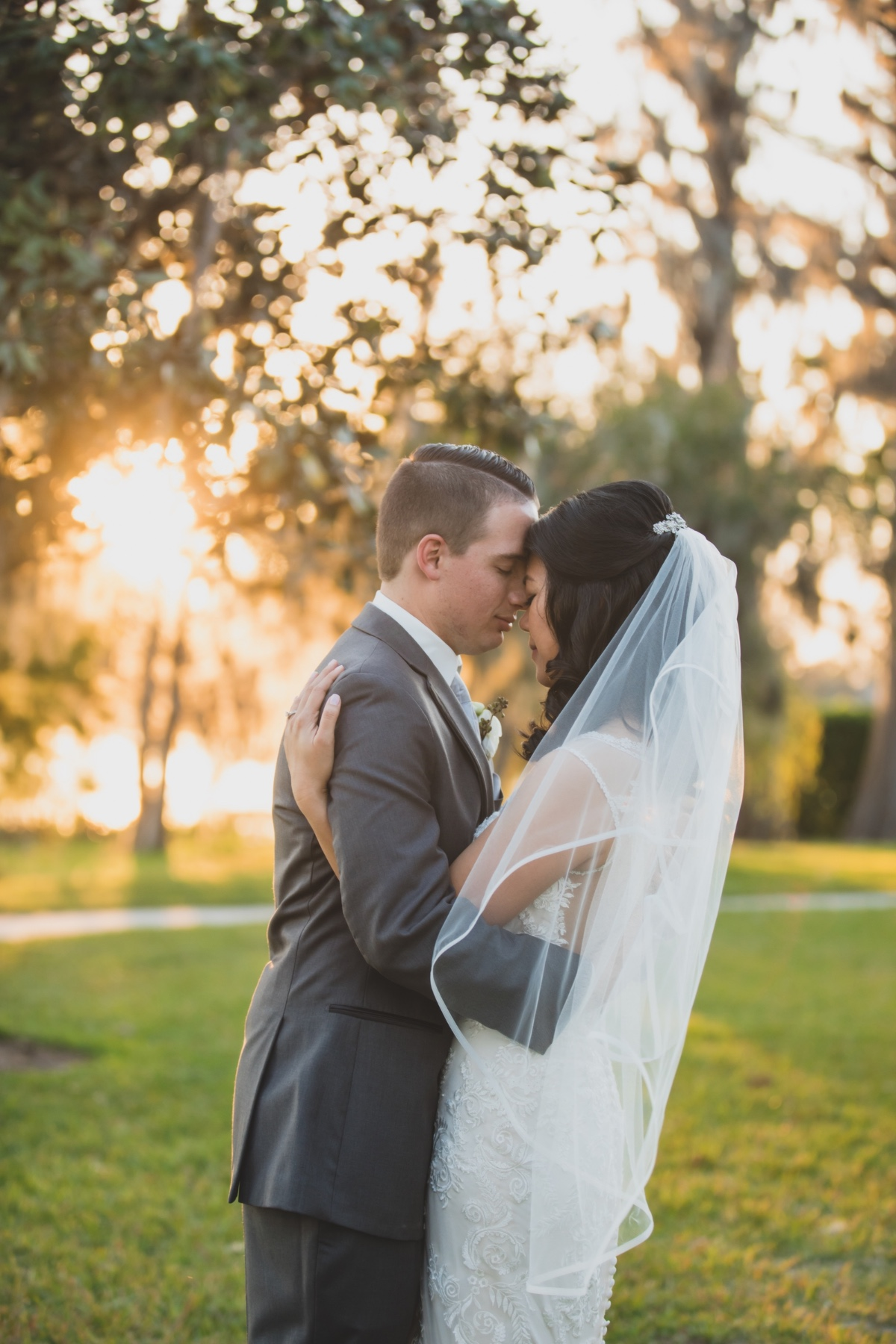Romantic lakeside wedding at Cypress Grove Estate House