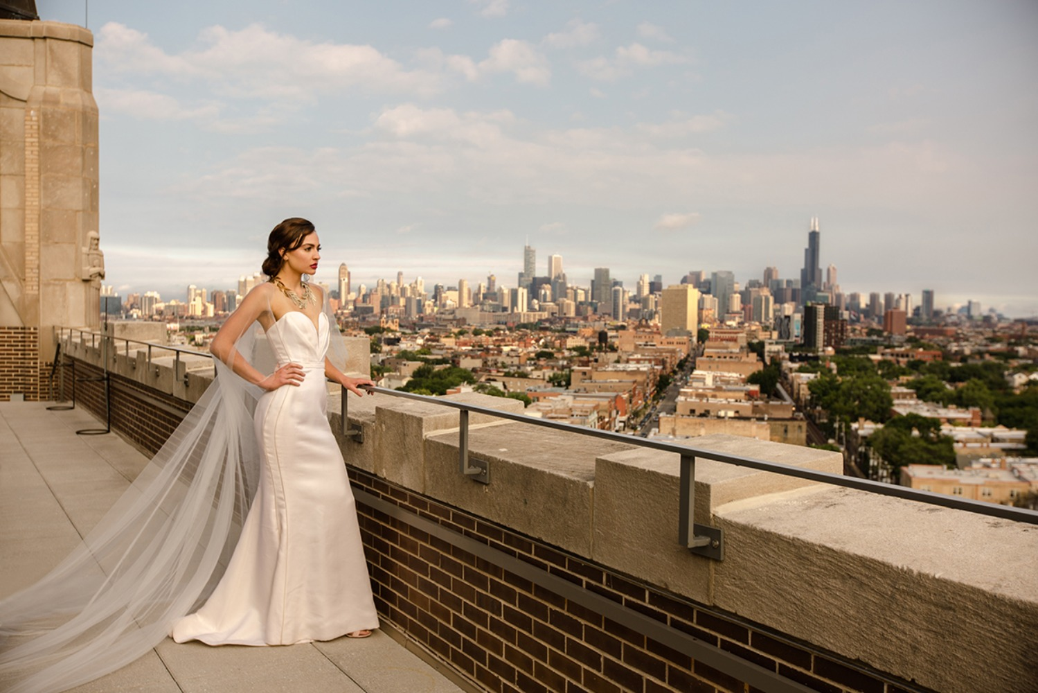 Chicago skyline for your wedding