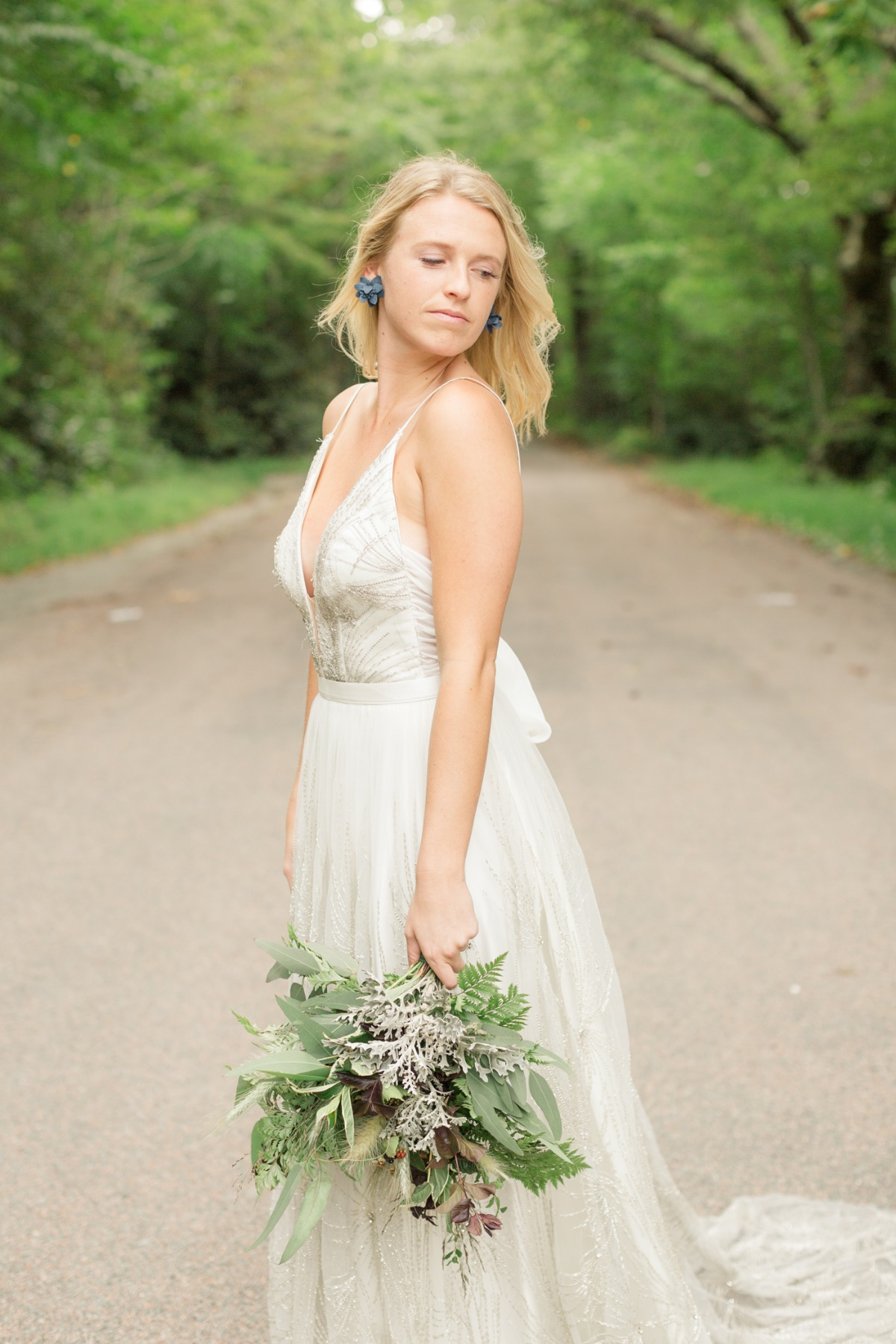 wild and free bridal style