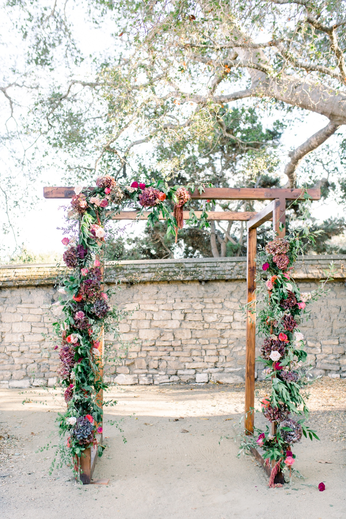 Wedding arbor design