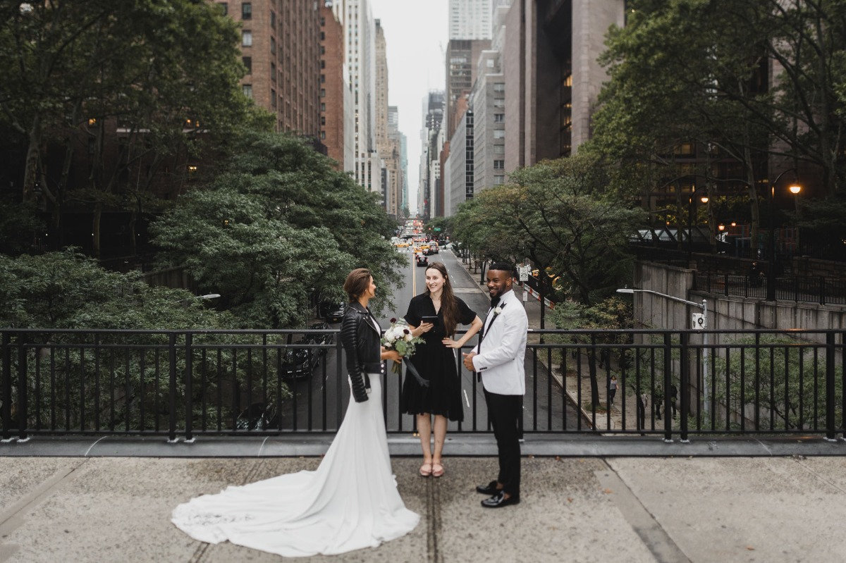saying I do in NYC