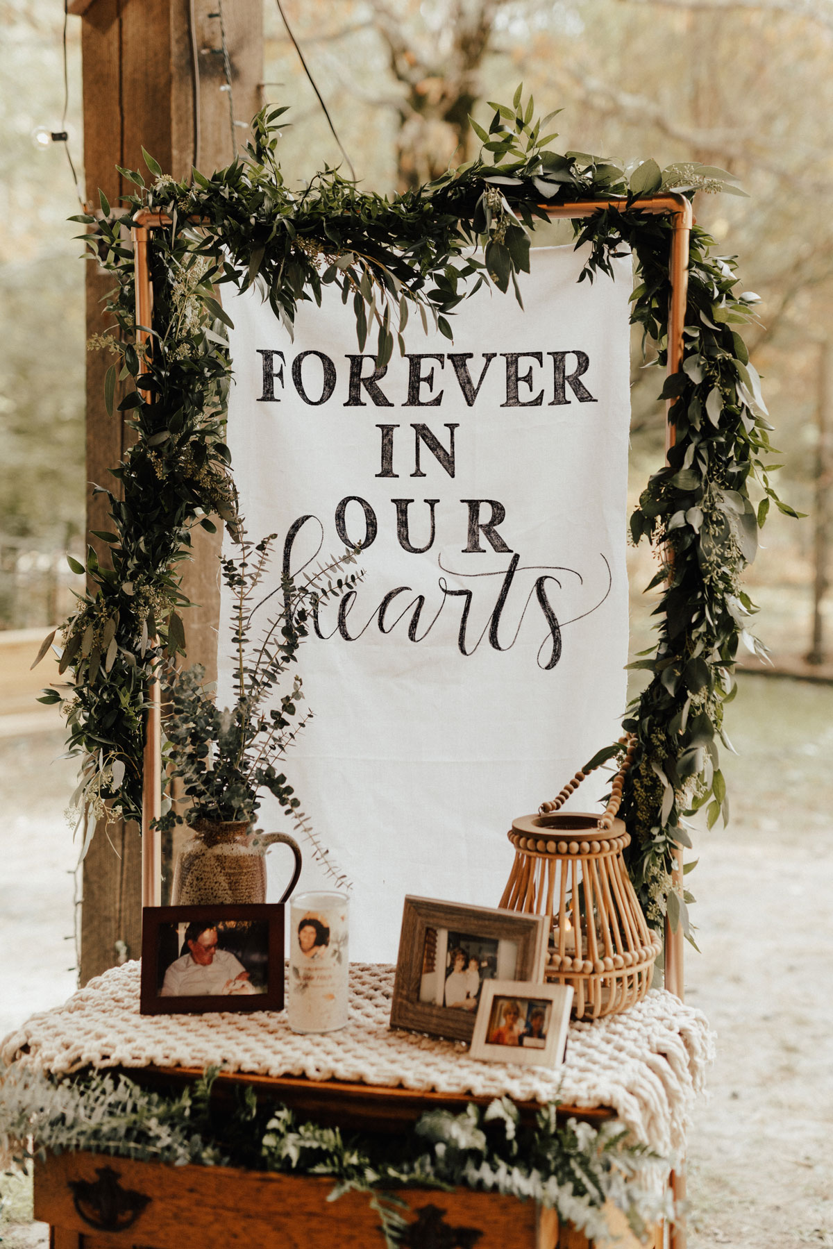 memorial wedding table