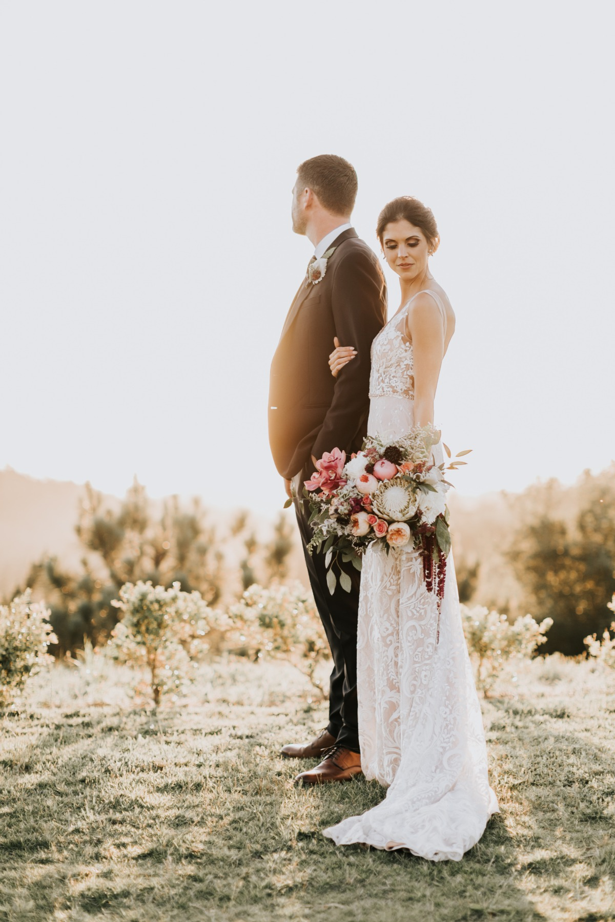 Sacred Mountain wedding in California