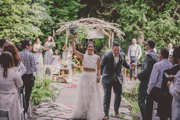 A Whimsical Nature Inspired Wedding With A Boho Vibe