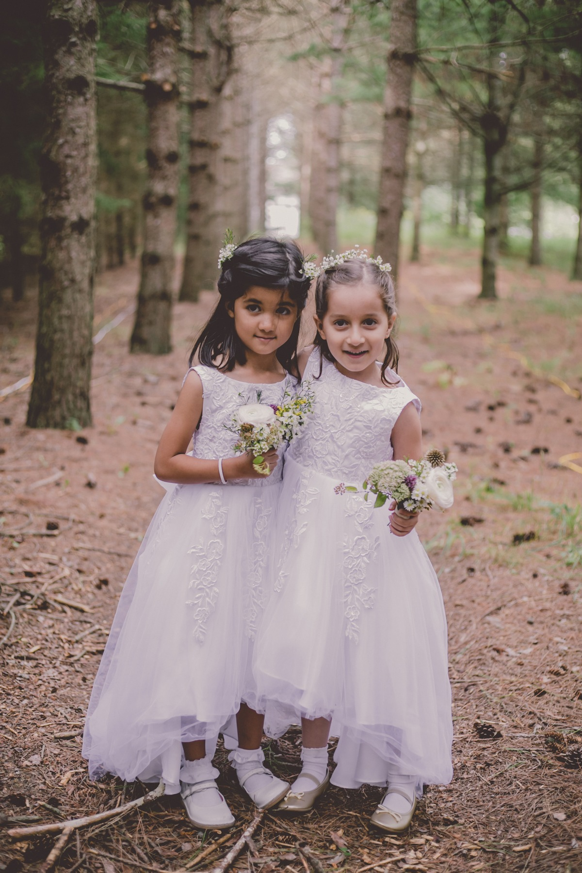 cute little flower girls