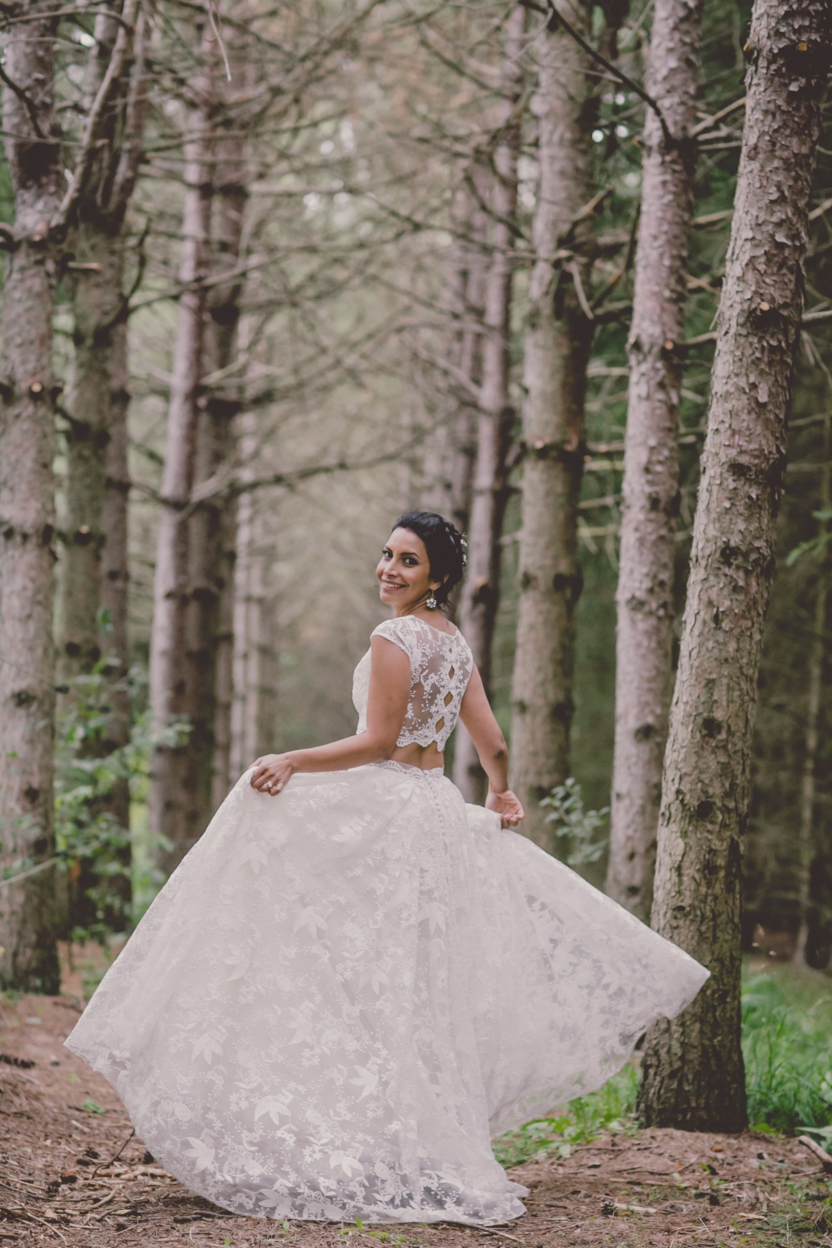 Abigail of Gardenia wedding dress