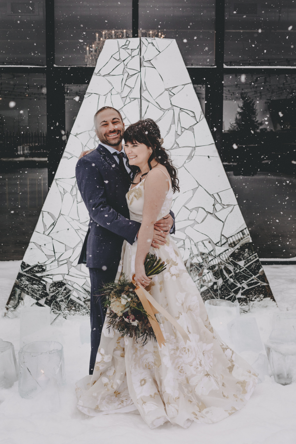 This Super Fun Winter Wedding Will Have You Wishing For Snow