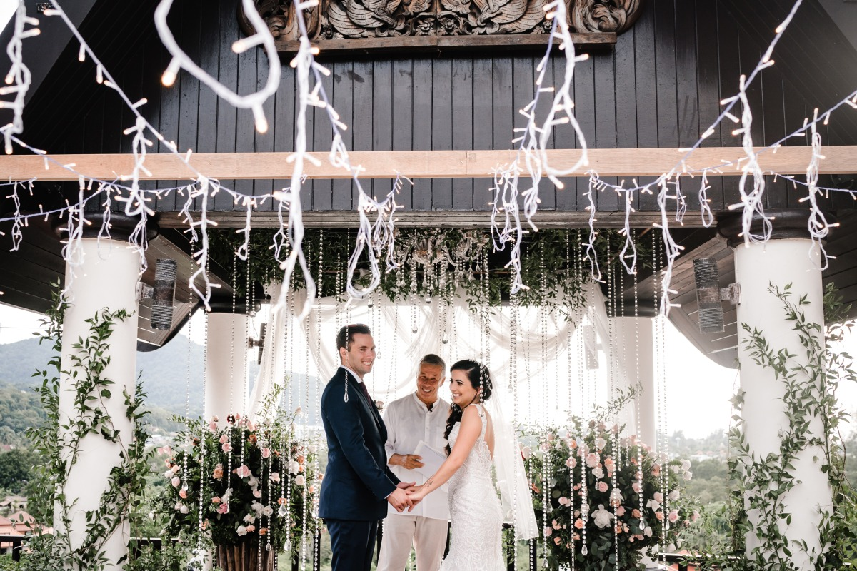saying I do in Thailand