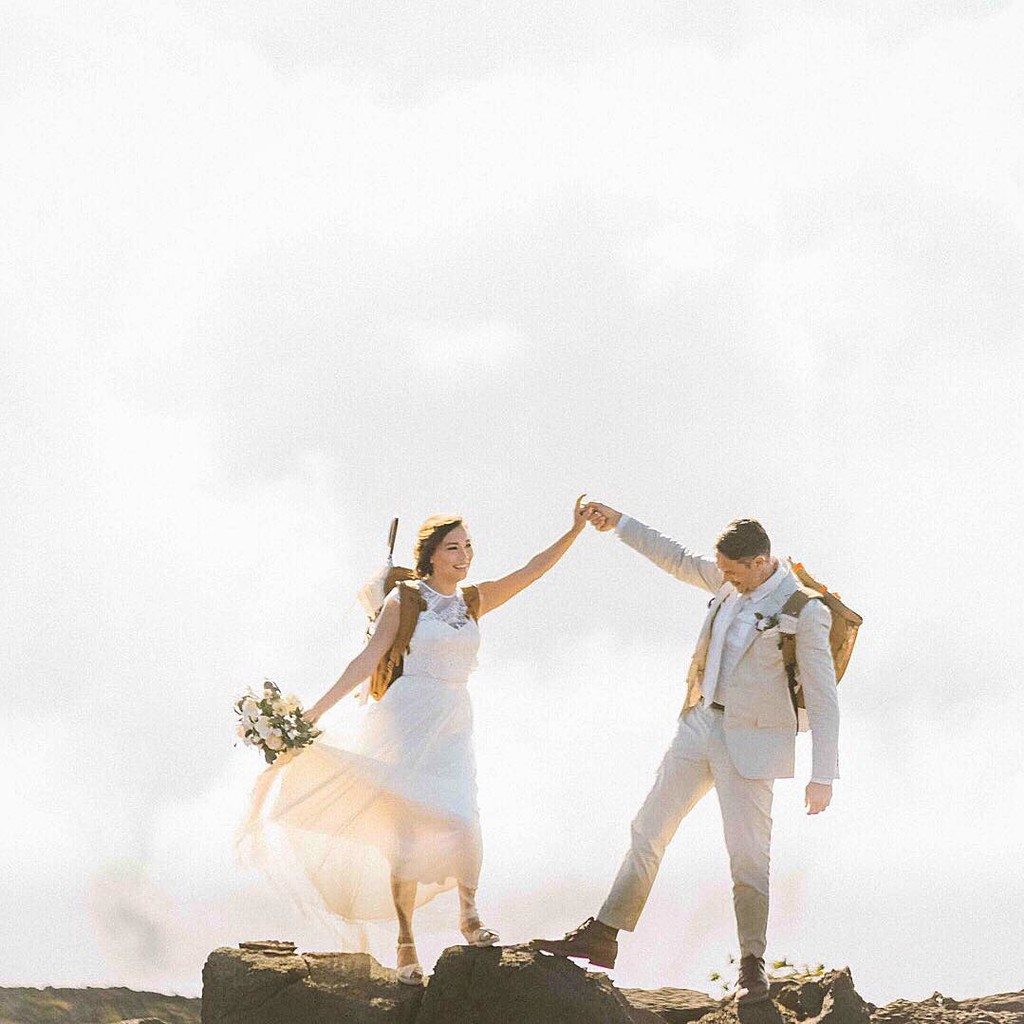 This Epic Elopement on the BLOG // Link on profile ✨