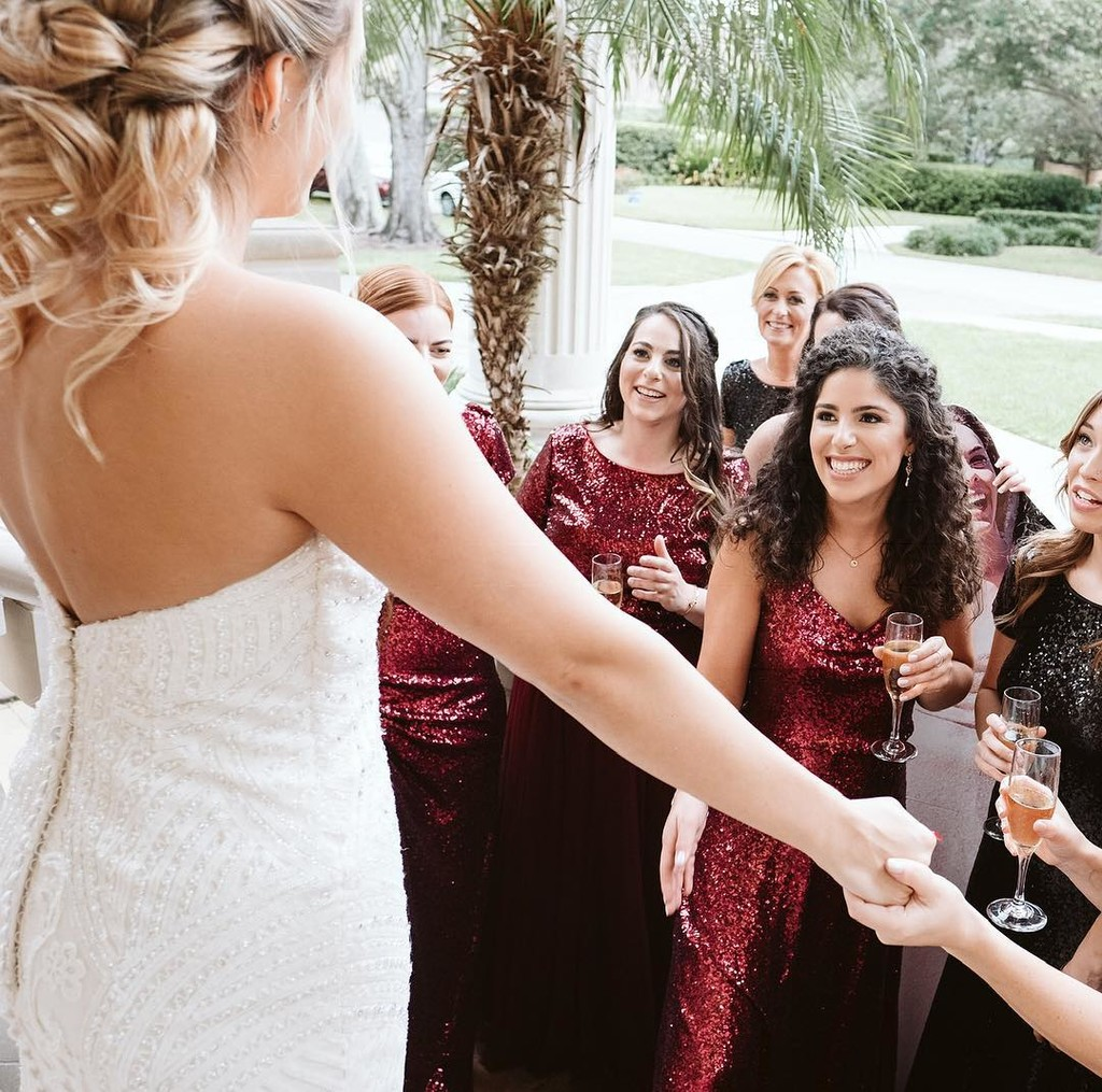 Cheers to best friends, big days, & the most marvelous moments.😍