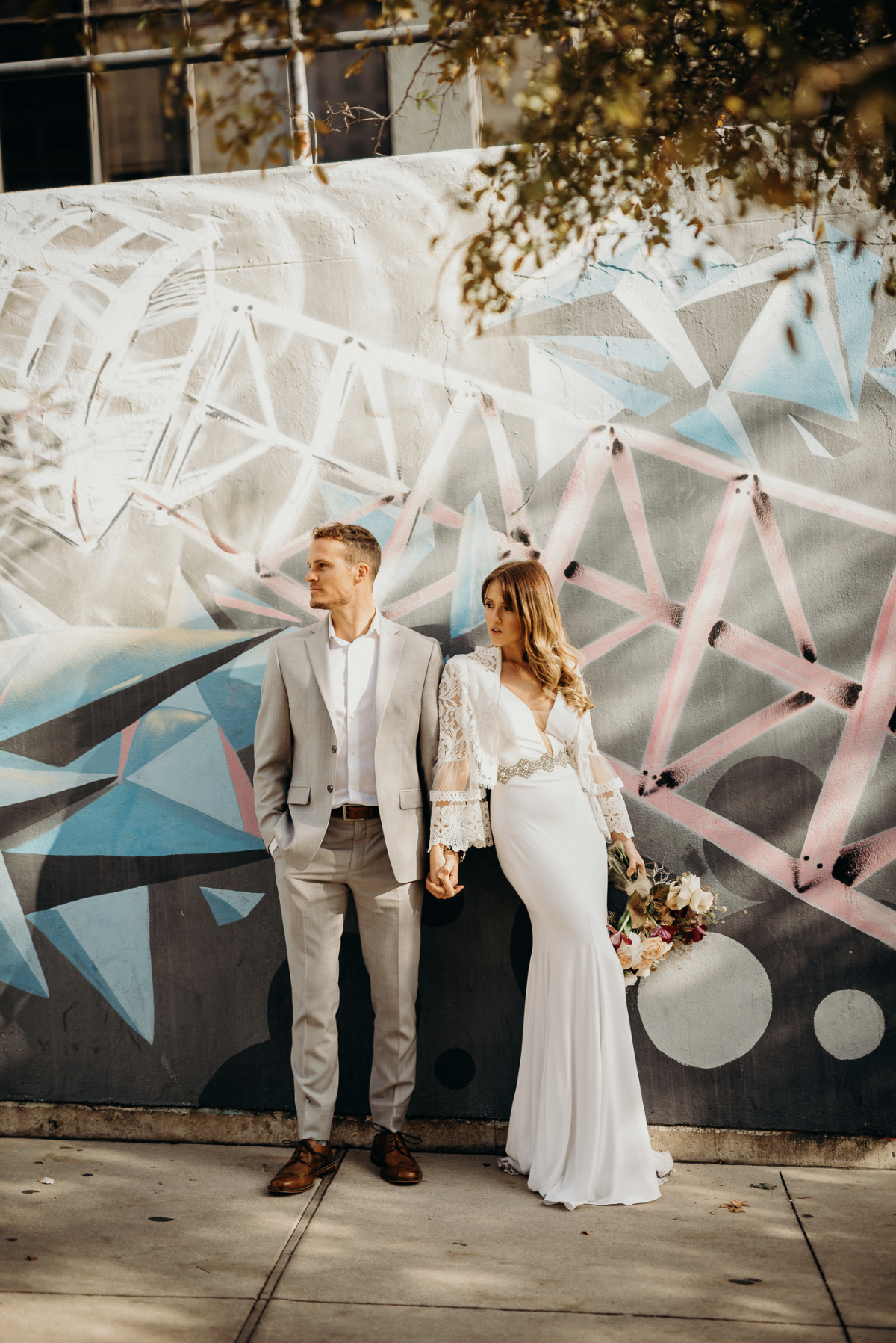 wedding couple in Austin