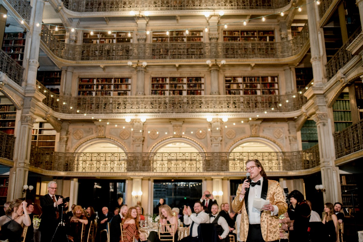 Peabody Library wedding venue
