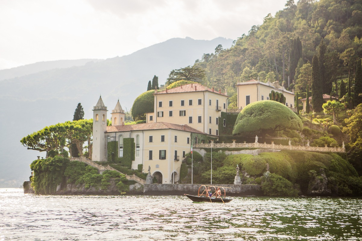 George Clooney Villa on Lake Como