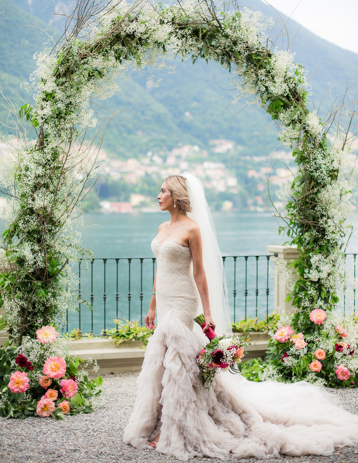 Wedding on the shores of Lake Como Italy