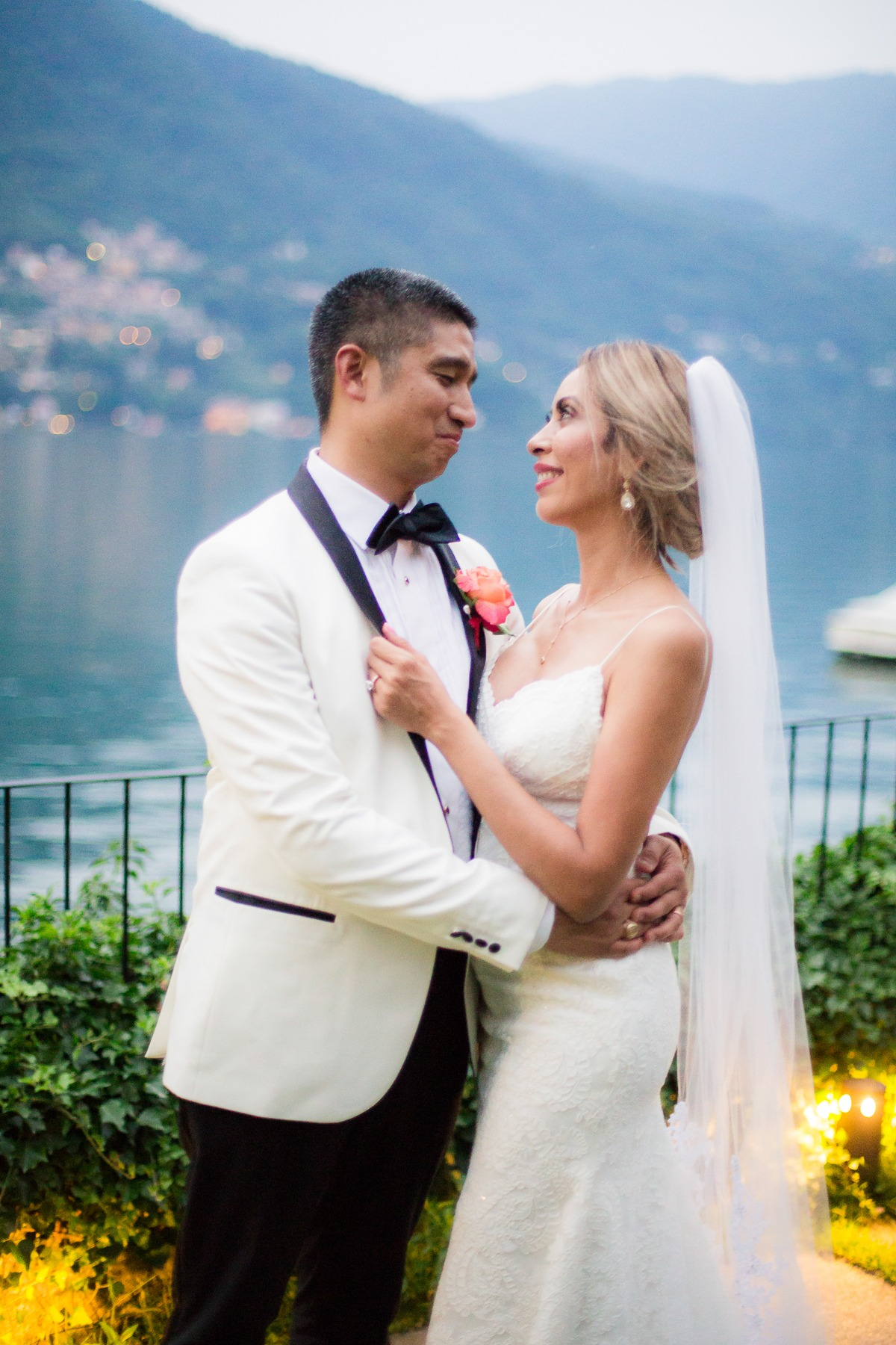 Gorgeous wedding on Lake Como