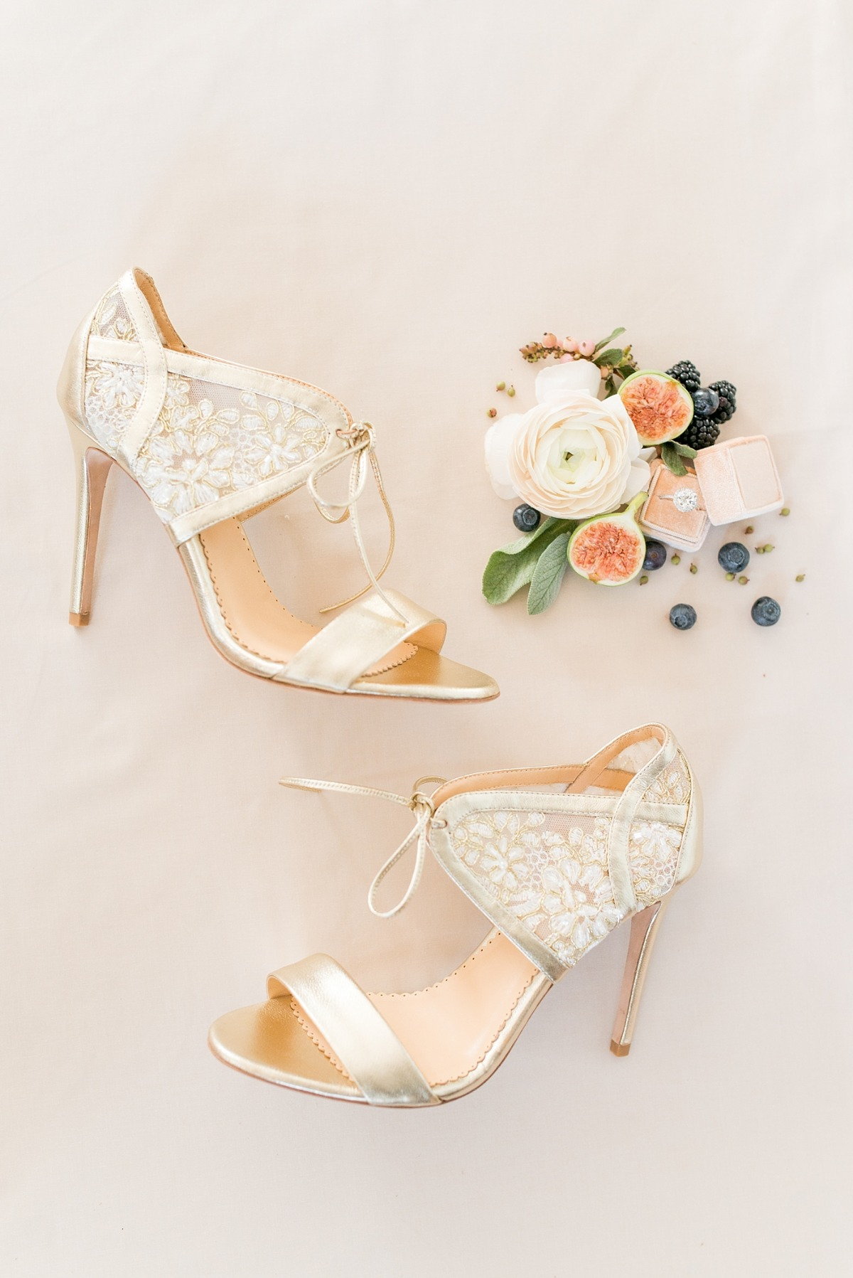 Wedding heels from Bella Belle